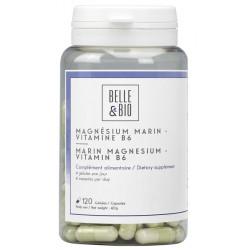 Magnésium Marin Vitamine B6 120 gélules Belle et Bio