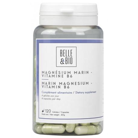 Magnésium Marin Vitamine B6 120 gélules Belle et bio Bio santé sénior