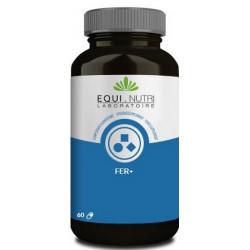 Fer 60 gélules végétales de 100mg Equi Nutri