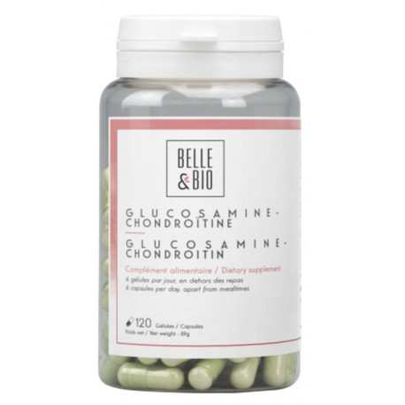 Glucosamine et Chondroïtine 120 gélules Belle et Bio Bio sante senior