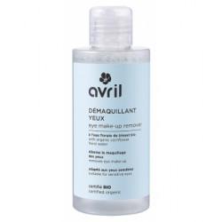 Démaquillant yeux à l'eau florale de bleuet bio 150ml Avril Beauté - maquillage bio Bio sante senior