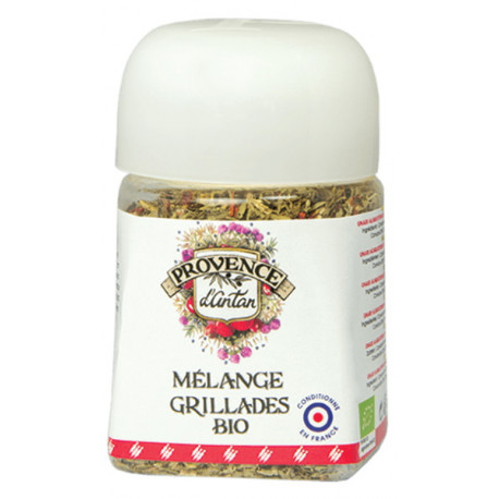 Mélange Grillade bio pot végétal biodégradable 30 gr Provence d'Antan