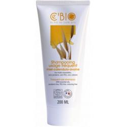 Shampoing usage fréquent Miel Calendula Avoine 200 ml C'BIO shampoing bio sante senior