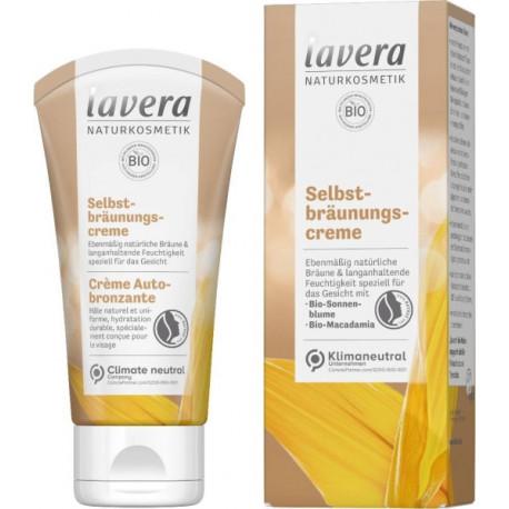 Crème Autobronzante 50 ml Lavera hâle naturel Bio sante senior