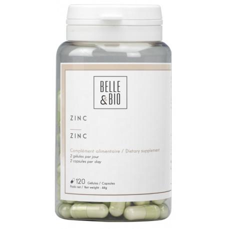 Zinc 120 gélules Belle et bio pidolate de zinc Bio sante senior