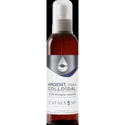 Oligo élément ARGENT colloïdal 20 ppm Catalyons Spray pulvérisateur 150ml