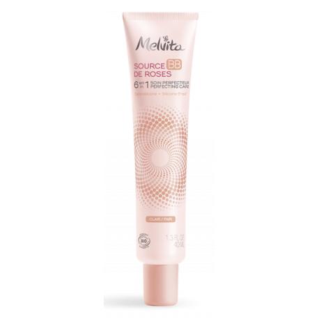 BB crème Nectar de roses clair 40 ml Melvita bb cream Bio sante senior