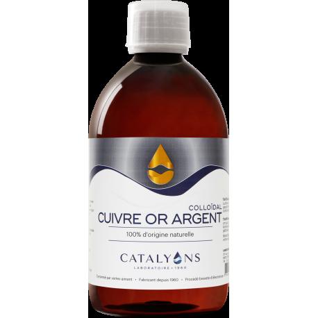 Oligo éléments CUIVRE OR ARGENT Catalyons 500 ml