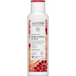 Shampoing éclat couleur et soin 250ml Lavera