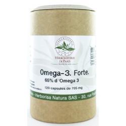 Omega 3 forte 65% 120 capsules de 705 mg Herboristerie de Paris EPA DHA Bio sante senior