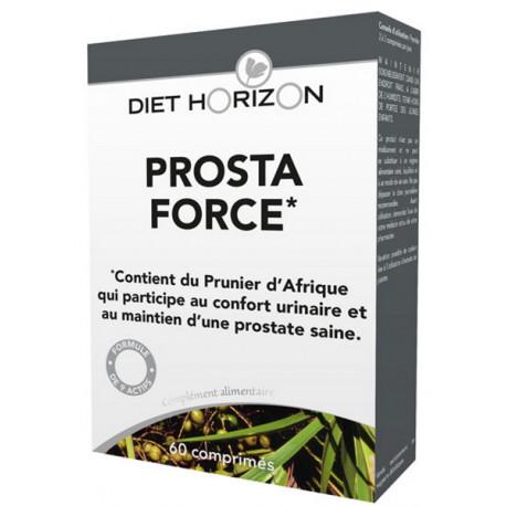 Prosta Force 60 comprimés Diet Horizon, pour l'homme de 50 ans bio santé sénior