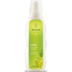 Lait Corps vivifiant au Citrus tous types de peau 200 ml Weleda lait corporel tonifiant Bio sante senior