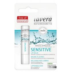 Baume à lèvres Jojoba Amande douce Basis Sensitiv 4.5g stick lèvres Bio sante senior