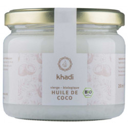 Huile de Coco Extra Vierge 250gr KHADI