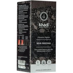 Coloration végétale Noir Profond 100 gr Khadi