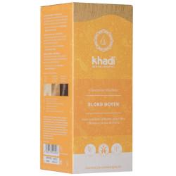 Coloration végétale Blond Moyen 100 gr Khadi teinture aux plantes Bio sante senior