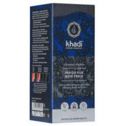 Coloration végétale Indigo Pur Noir Froid 100 gr Khadi