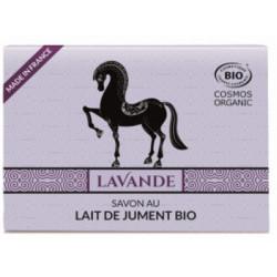 Savon Lait de jument à l'huile essentielle de lavandin 100 gr C'BIO savon traitant Bio santé sénior