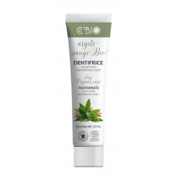 Dentifrice Argile Sauge bio purifiant reminéralisant 75 ml C'BIO Bio sante senior