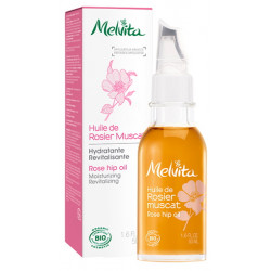 Huile de Rosier Muscat hydratante revitalisante 50 ml Melvita rosa rubiginosa Bio sante senior