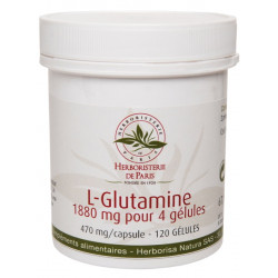 L Glutamine 120 Gélules Herboristerie de Paris immunité équilibre du ph Bio sante senior