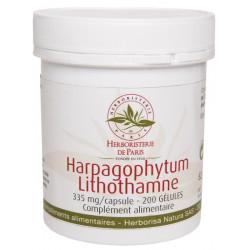 Harpagophytum Lithothamne 200 Gélules Herboristerie de Paris articulations griffe du diable Bio sante senior