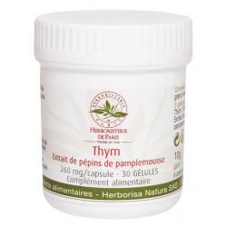 Thym Extrait de pépins de pamplemousse 30 Gélules Herboristerie de Paris bioflavonoides immunité Bio santé sénior