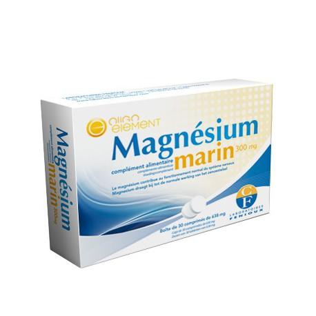 Magnesium Marin 300 mg - 30 comprimés - laboratoires Fenioux bio sante senior