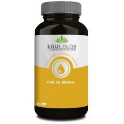 Huile de foie de morue 60 gélules Equi Nutri Bio sante senior