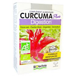 Curcuma Plus Digestion Bio 60 comprimés Biotechnie foie Bio sante senior