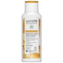Après Shampoing Réparateur Expert et Soin profond 200 ml Lavera cheveux abimés et secs Bio sante senior