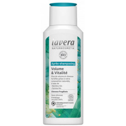 Après Shampoing Volume et Vitalité 200 ml Lavera cheveux raides, fragiles et fins Bio sante senior