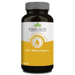 EPA Plus 280mg Omega 3  30 capsules support cardio vasculaire Equi Nutri Bio sante senior