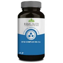 No 44 complexe Manganèse Cuivre 60 gélules végétales Equi Nutri
