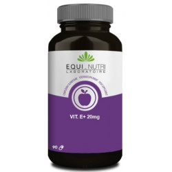 Vitamine E Naturelle 20mg  90 gélules végétales Equi Nutri