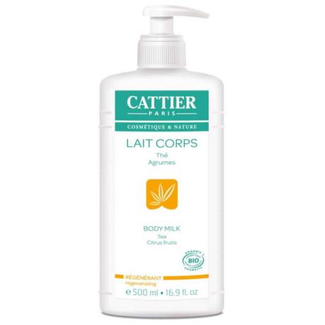 Lait Corps Hydratant Régénérant Pamplemousse Citron 500 ml Cattier