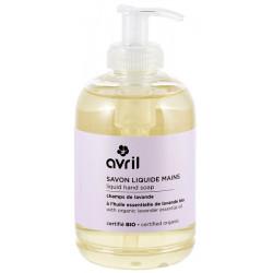 Savon liquide Mains Champs de lavande 300 ml Avril Beauté certifié Ecocert Bio sante senior