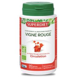 Vigne Rouge bio 90 gélules Super Diet circulation jambes légères Bio sante senior
