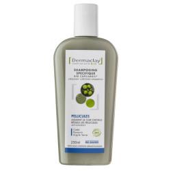 Shampooing Bio Capilargil Bio Pellicules 250 ml Dermaclay cade argile verte romarin Bio santé sénior