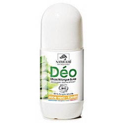Déodorant longue durée Aloe vera Kaolin 50 ml Naturado déo roll on Bio sante senior