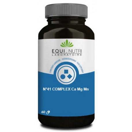 n°41 complex Ca Mg Mn 60 gélules Equi nutri calcium magnésium manganèse Bio sante senior