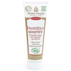 Dentifrice bio Sourire Blancheur Propolis 50 ml Ballot-Flurin menthe sauge propolis Bio sante senior