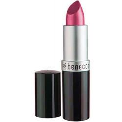 Rouge à lèvres Rose Hot Pink 4.5gr Benecos maquillage minéral Bio sante senior