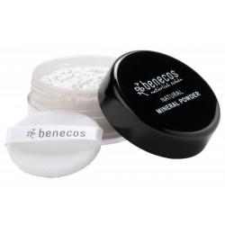 Poudre libre minérale Translucide 10 gr Benecos peaux mixtes poudre transparente Bio sante senior