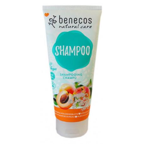 Shampooing Abricot et Fleur de Sureau 200ml Benecos Bio sante senior