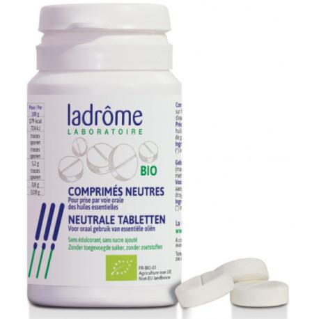 30 Comprimés neutres bio pour huiles essentielles Ladrôme aromathérapie orale Bio santé senior