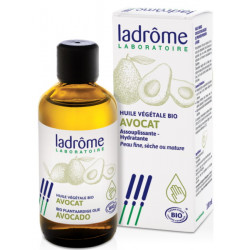 Huile végétale d'Avocat bio 100 ml Ladrôme nutrition et hydratation Bio sante senior