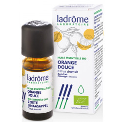 Huile essentielle bio Orange douce 10 ml Ladrôme vitalité tonus digestion Bio sante senior