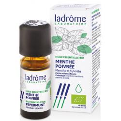 Huile essentielle bio Menthe poivrée 10 ml Ladrôme digestion dépuratif Bio sante senior