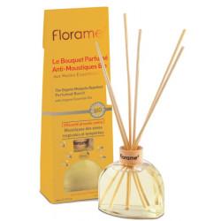 Bouquet Parfumé Anti Moustiques Bio 80 ml Florame géraniol citronnelle Bio sante senior